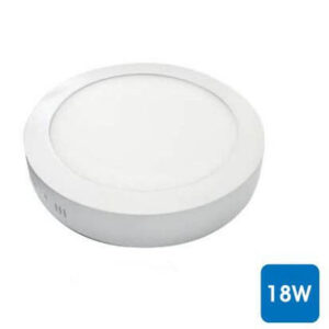 Downlight Superficie Redondo Blanco 18W