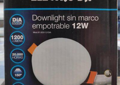 Nuevos plafones LED sin cerco 12w