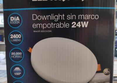 Nuevos plafones LED sin cerco 24w