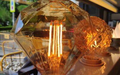 Nuevas bombillas decorativas LED