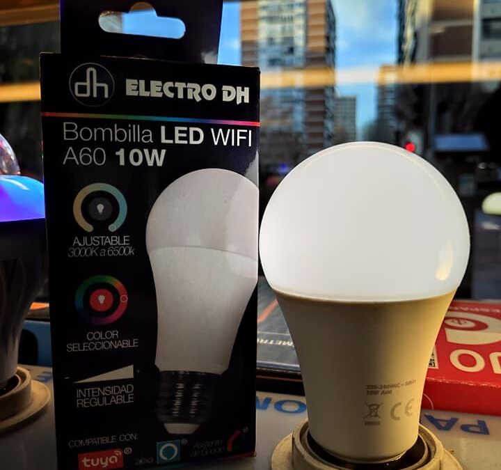 Bombillas LED WIFI 📶 compatibles con Alexa
