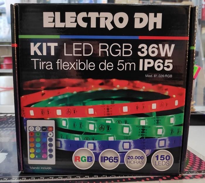 Kit Tiras Led RGB con Mando a Distancia 👌